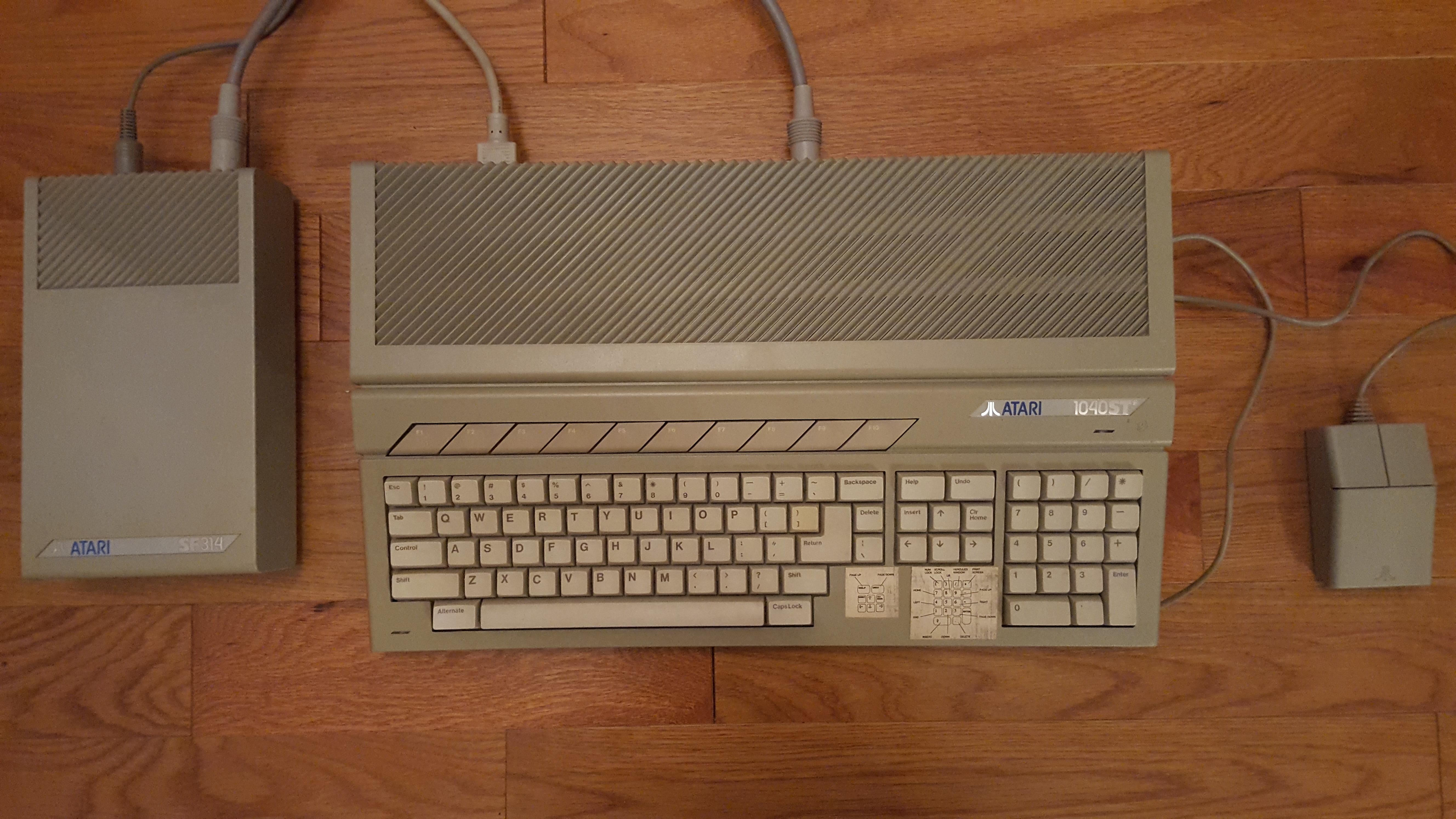 Atari 1040STF 2.5MB