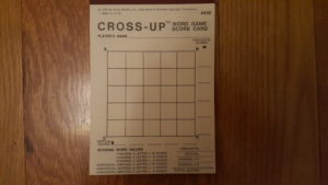 Cross-Up Play Grid