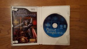 Puzzle Kingdoms Wii Disc