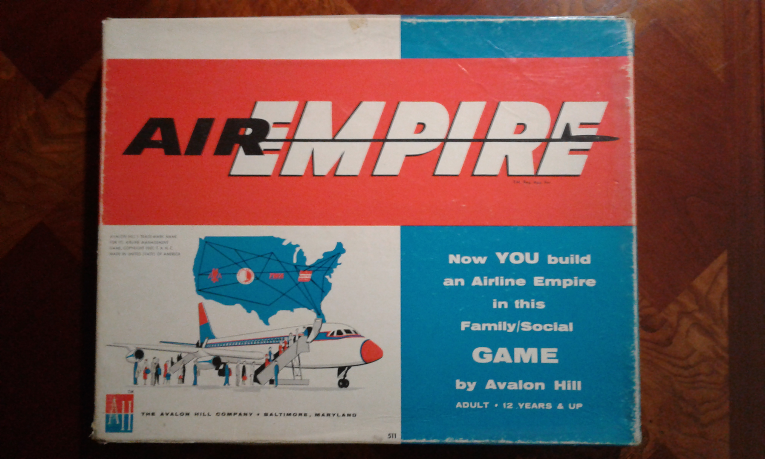 Air Empire Box Art