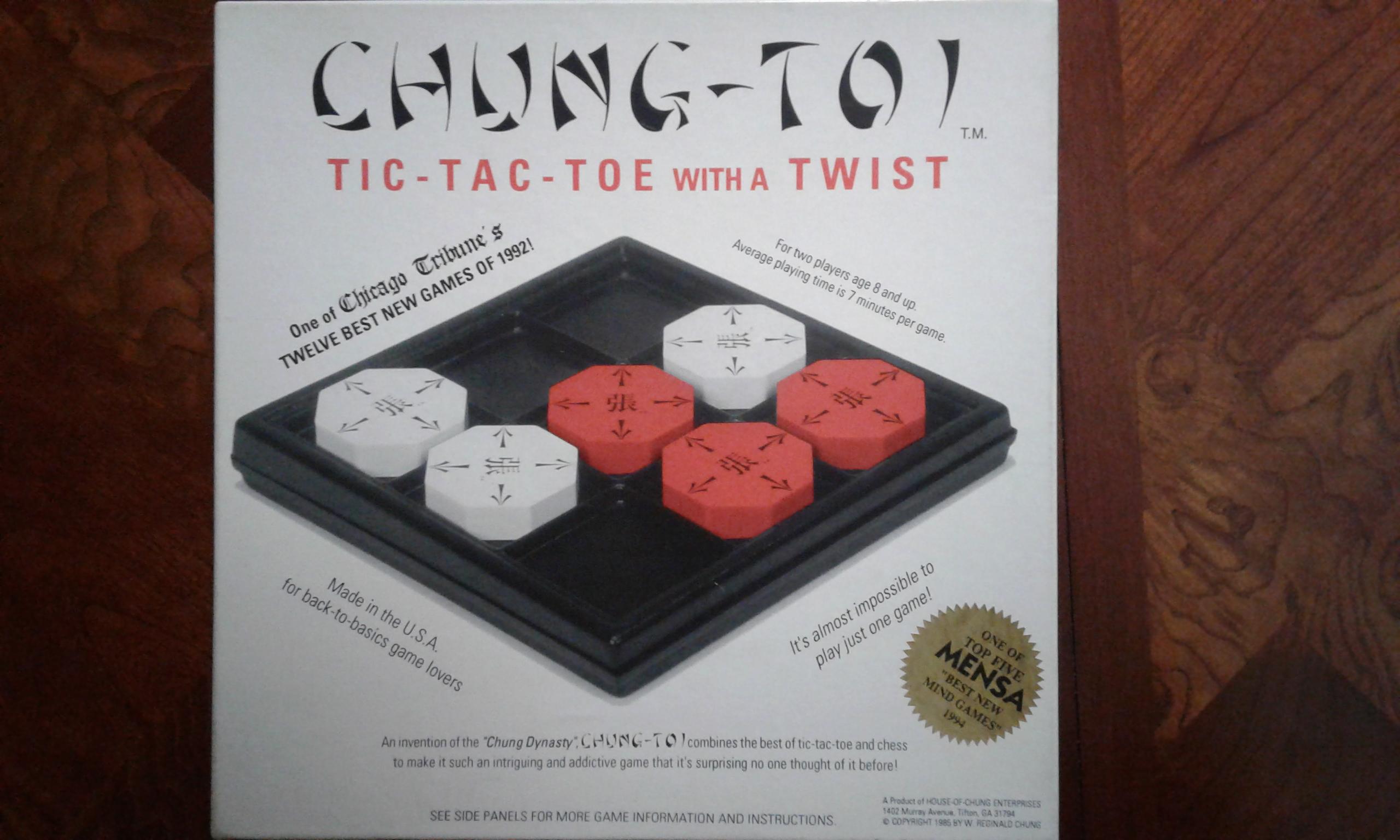 Chung-Toi Board Game