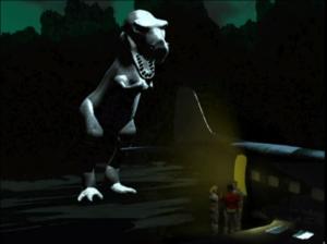 """T-Rex says, """"Hi Guys!""""."""