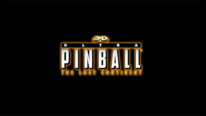 3D Ultra Pinball: The Lost Continent Title Screen