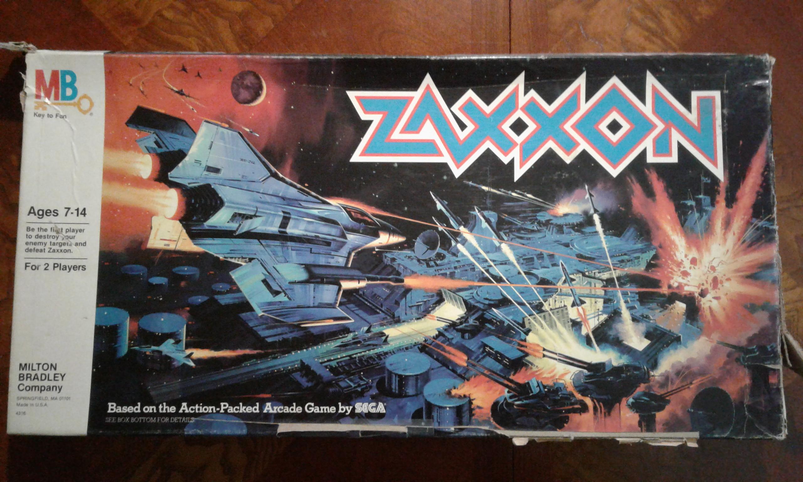 Zaxxon the Board Game