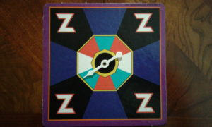Zaxxon the Board Game Spinner