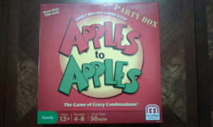 Apples to Apples Game Box