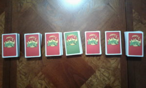 Apples to Apples Card Piles
