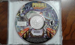 3D Ultra Pinball: ThrillRide Game Disc