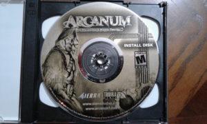 Arcanum Game Disc