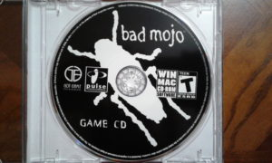 Bad Mojo game disc.