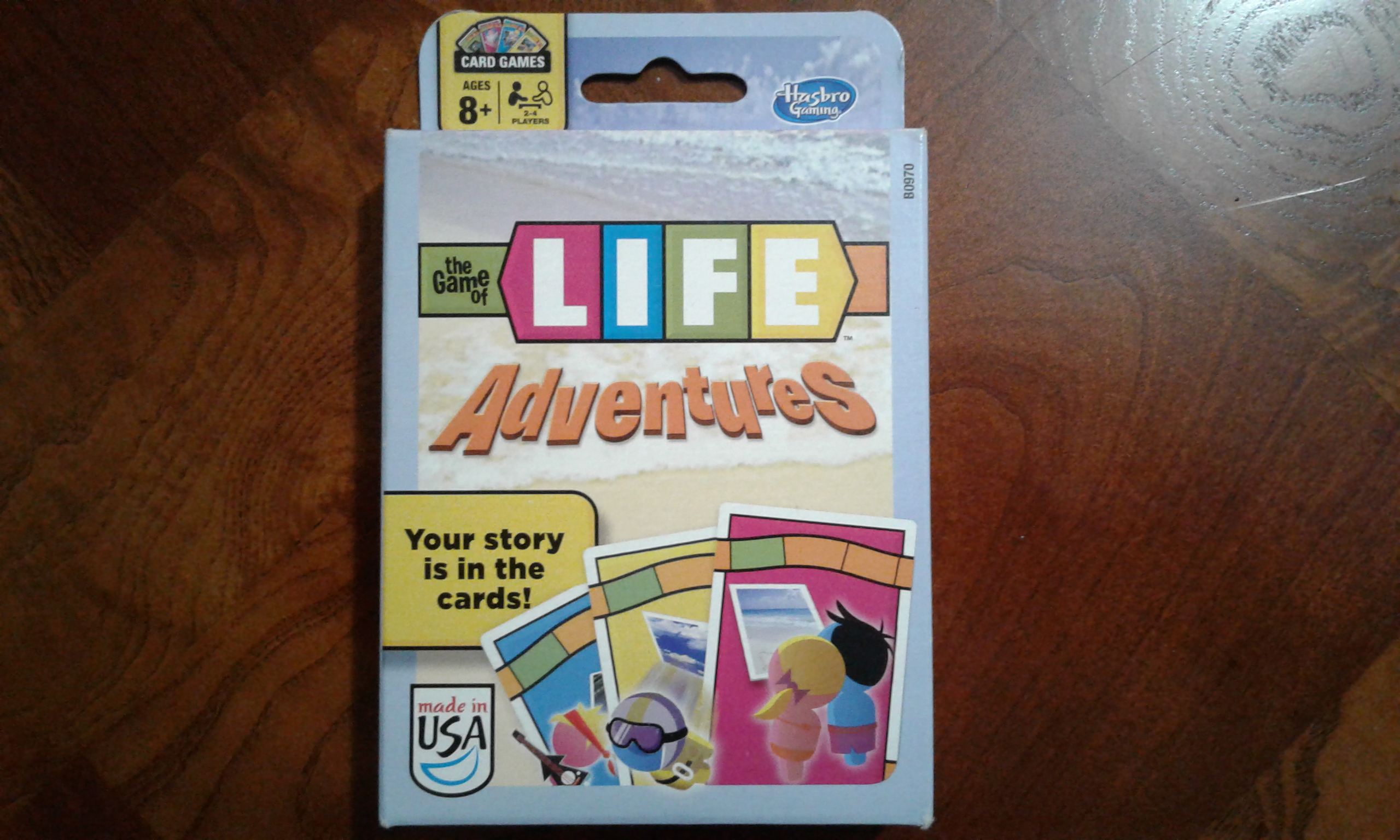 The Game of Life Adventures Game Box