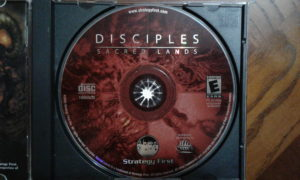 Disciples: Sacred Lands Game Disc