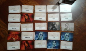 Codenames gameplay