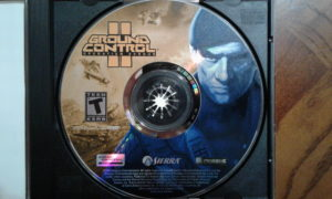 Ground Control II game disc