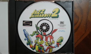 Jazz Jackrabbit 2 Game Disc