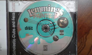 Lemmings Painball game disc.