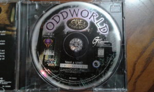 Oddworld: Abe's Oddysee Game Disc