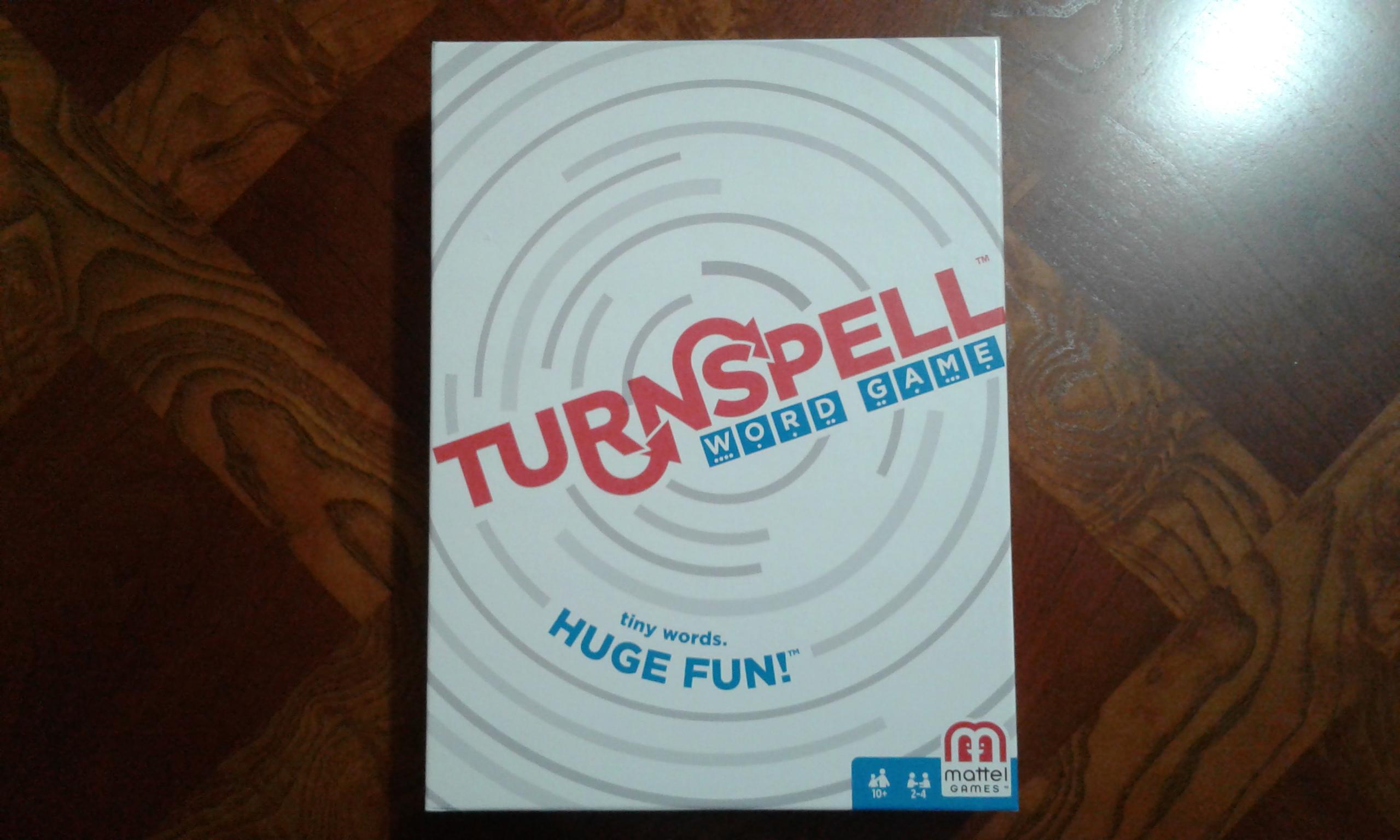 Turnspell Game Box