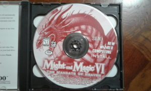 Might and Magic VI: The Mandate of Heaven Game Disc