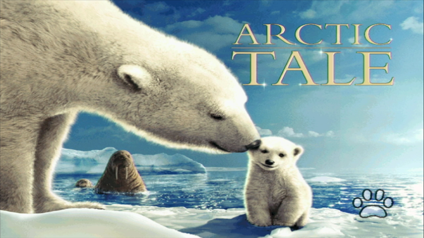 Arctic Tale Title Screen (Dawww!)