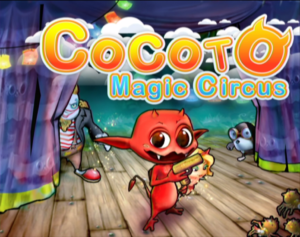 Cocoto Magic Circus Title Screen