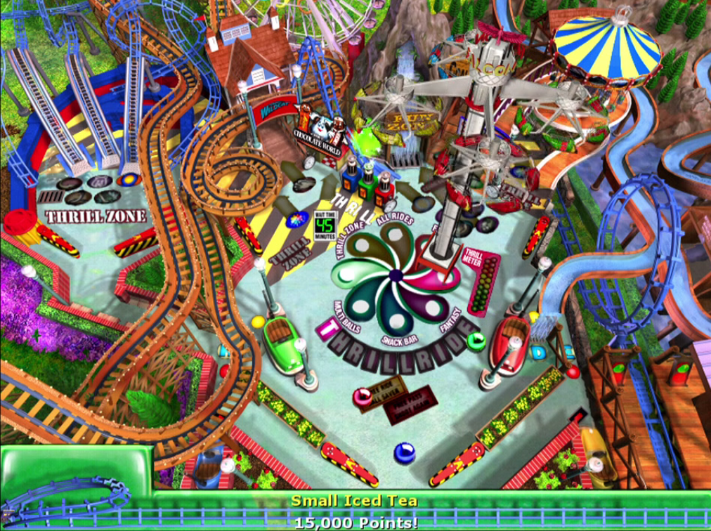 3D Ultra Pinball: ThrillRide – Windows 98 Game First ...
