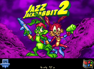 Jazz Jackrabbit 2 Title Screen