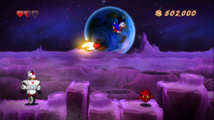DuckTales: Remastered Moon Gameplay