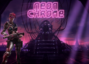 Neon Chrome Title Screen