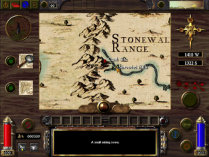 Arcanum Overworld Map