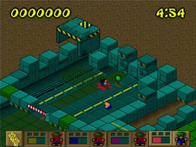 Lemmings Paintball \u2013 Windows 95 Game First Impressions   Bunny Gamer