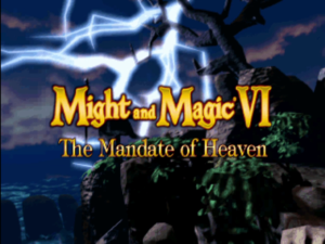 Might and Magic VI: The Mandate of Heaven Title Screen