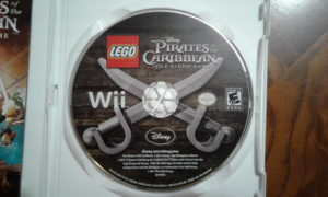 Lego Pirates of the Caribbean: The Video Game Game Disc