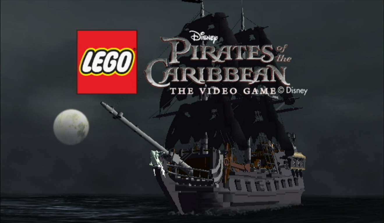 Lego Pirates of the Caribbean: The Video Game Title Screen