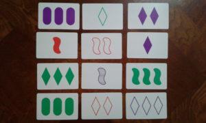 Set 3x4 grid arrangement