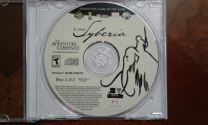 Syberia Game Disc