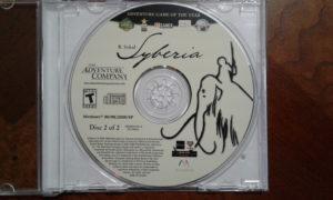 Syberia Game Disc