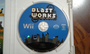 Blast Works Game Disc