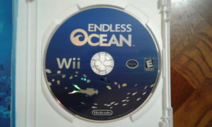 Endless Ocean Game Disc