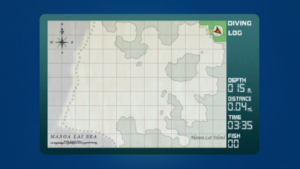 Map of Manoa Lai sea.