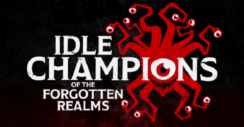 Idle Champions of the Forgotten Realms Title Screen