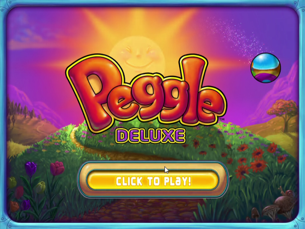 Peggle Title Screen