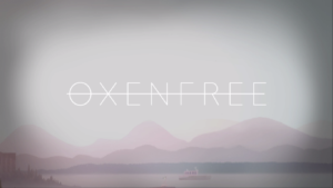 Oxenfree Title Screen