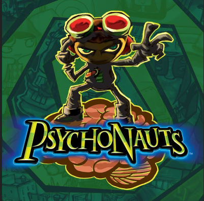 Psychonauts Box Art