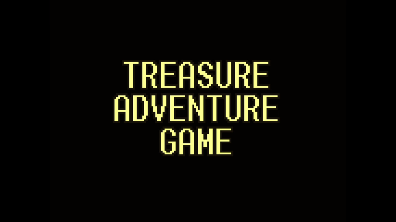 Treasure Adventure Game Title Screen
