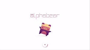 Alphabear: Hardcover Edition Title Screen