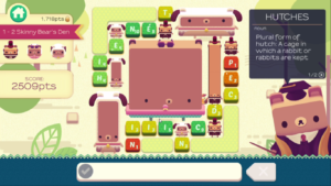 Alphabear: Hardcover Edition puzzle gameplay
