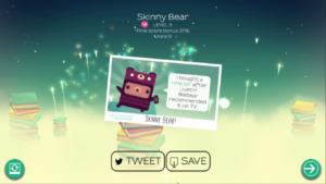Skinny Bear Leveled Up!