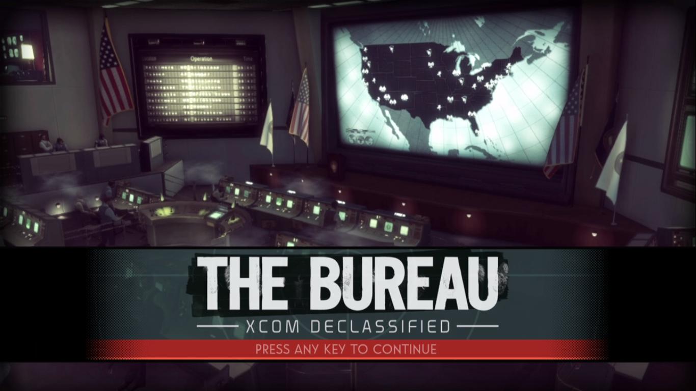 The Bureau: XCOM Declassified Title Screen
