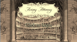 Aviary Attorney Title Screen